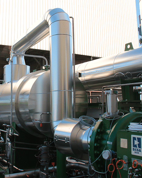 PAC 3700kW par Enertime, condensation de vapeur basse pression, UVE Le Mans