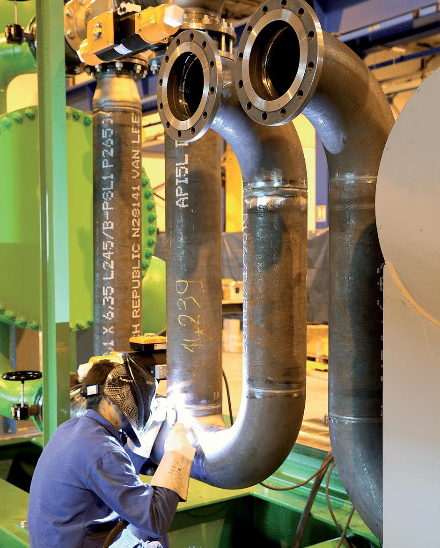 Maintenance d'un ORC – Energie Circulaire